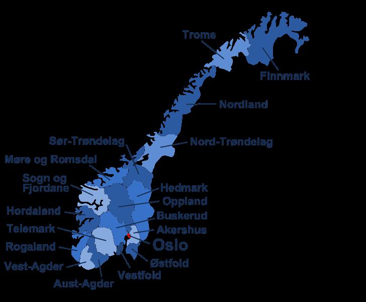 liste over kommuner i norge